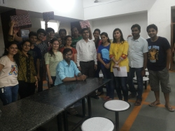 Winners with Dr Sameer Pingle and members of Imprintz