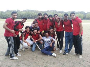 Vulcans after winning the semi-final against Blitzkrieg