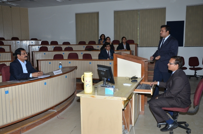 The track session on Capital Markets in progress