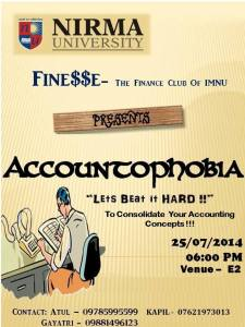 Accountophobia  poster