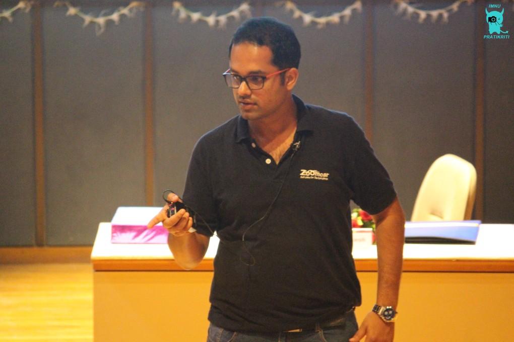 Mr. Sreejith Hrishikesh at IMNU