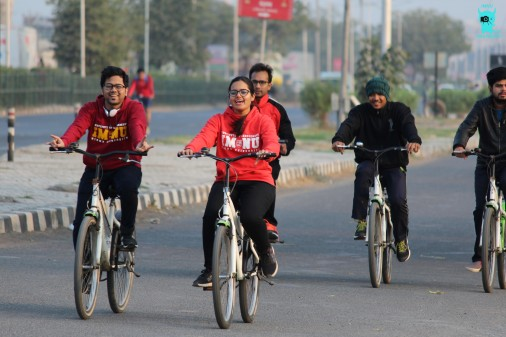 Cyclothon by Rotaract Club of IMNU