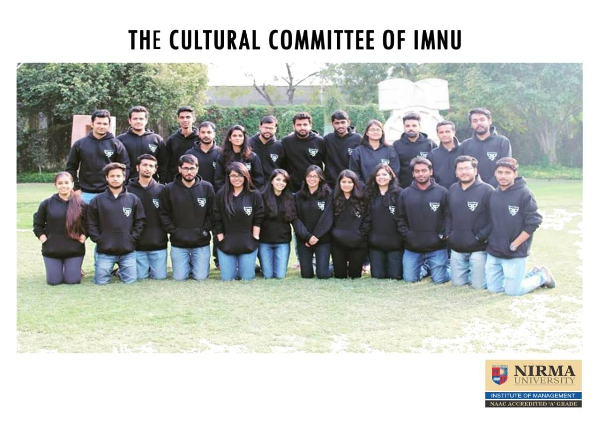 The Cultural Committee | Institute of Management, Nirma