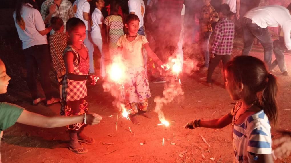 Diwali celebration by Nirmaan